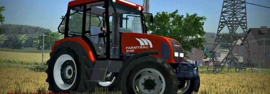 Farmtrac 80 4WD edit by Adamo15