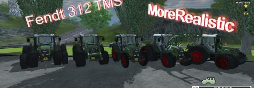 Fendt 312 TMS RED v2.0 MR
