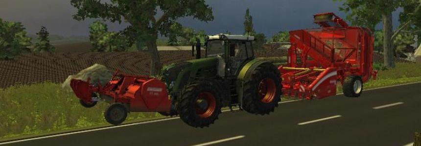 FT300 and beet harvester Combi v1.1