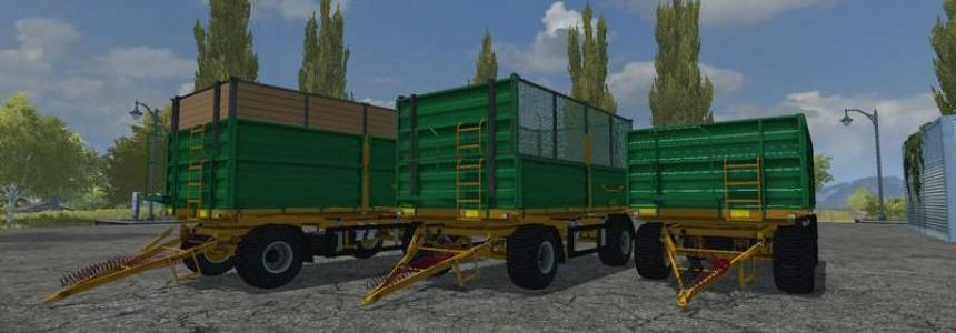 Fuhrmann Small Trailers v1.0
