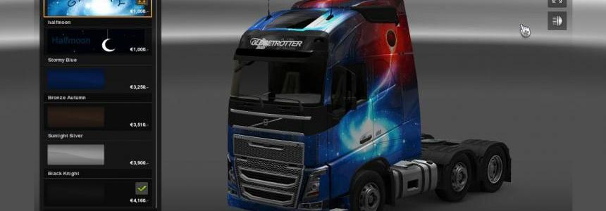 Galaxy skins for Volvo