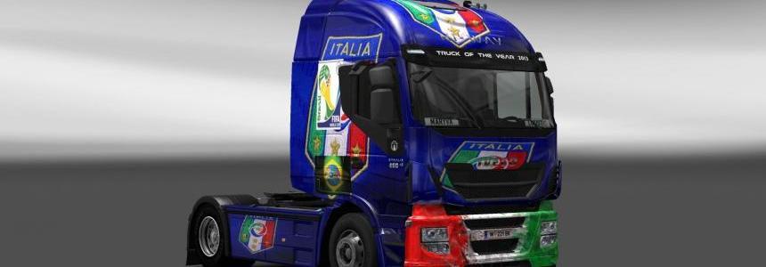 Iveco Hi Way Italy Copa 2014 Skin