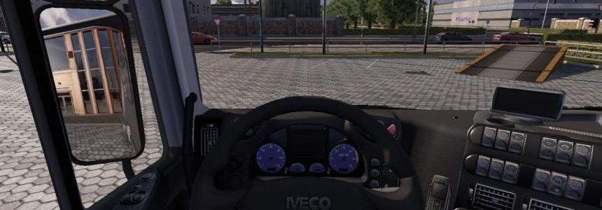 Iveco Stralis realistic dashboard v2
