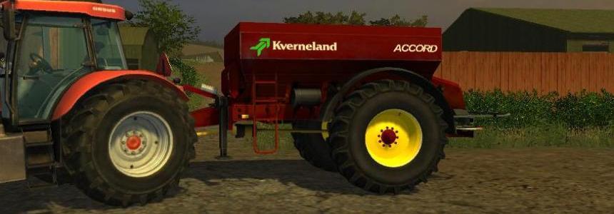Kverneland Spreader