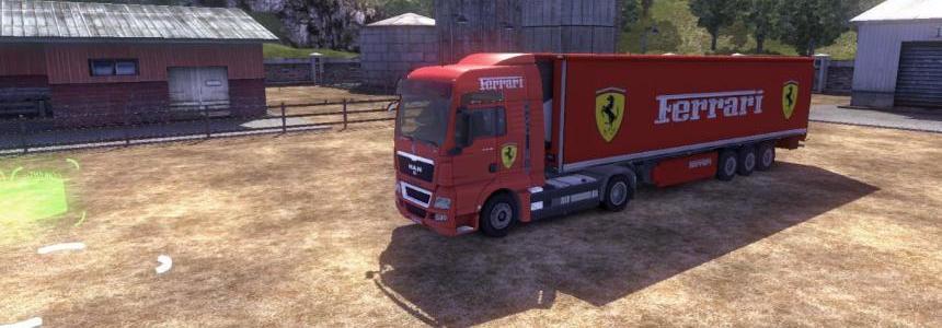 MAN Ferrari Combo Skin Pack