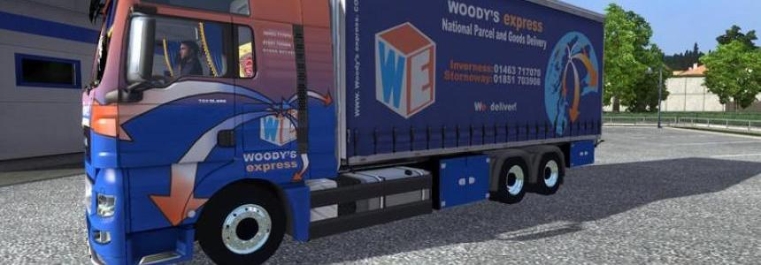 MAN WOODYS express