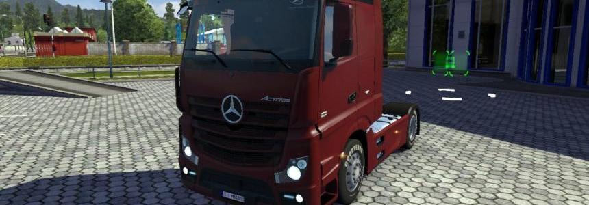 Mercedes Actros MP4 v2 Edited