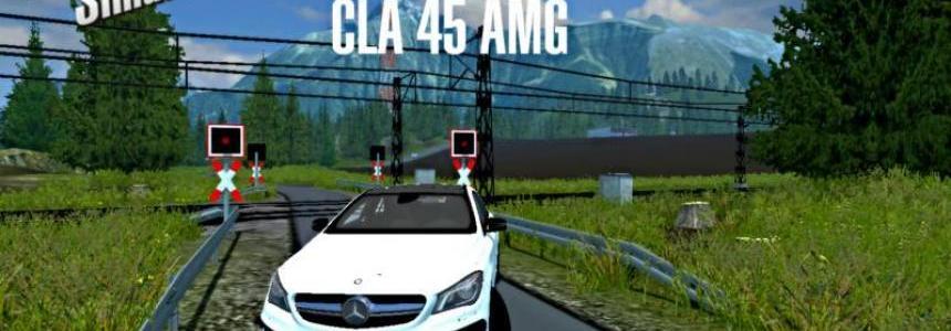 Mercedes Benz CLA 45 AMG v1.0