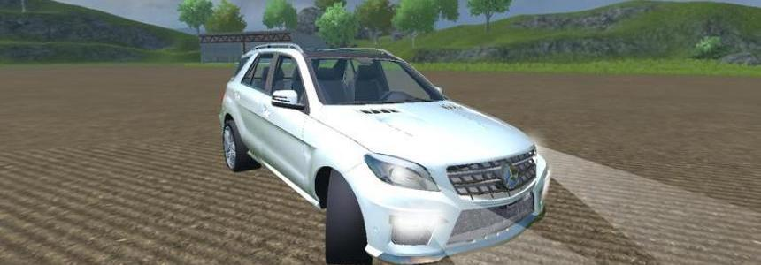 Mercedes Benz ML63 AMG v1.1