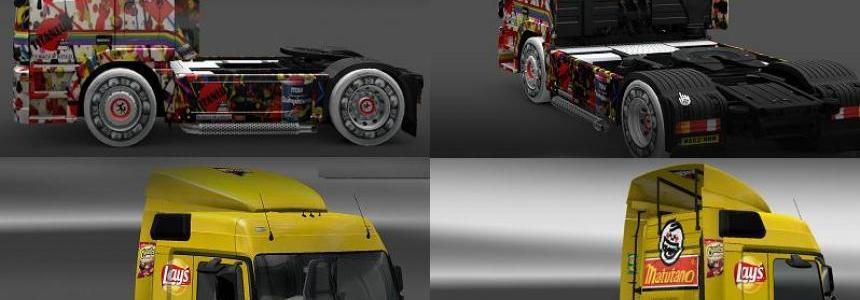 Mercedes Skin Pack