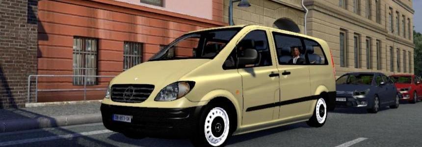 Mercedes Vito W639 Passenger