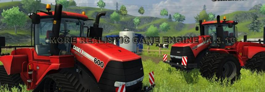 MORE REALISTIC GAME ENGINE v1.3.16