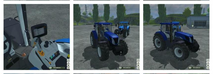 New Holland T7 Pack
