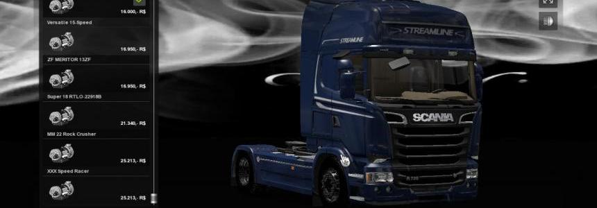 New Transmissions For All Trucks v2.0