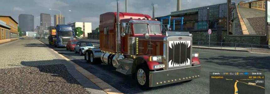Peterbilt 379 CAT 3406 sound + fixes