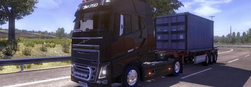 Real Volvo FH16 Mod pack