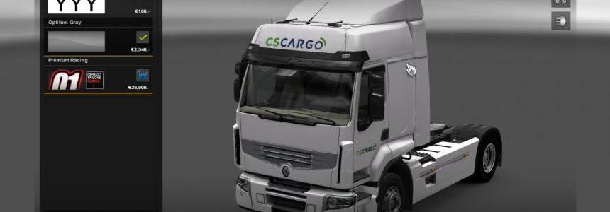Renault Premium CS Cargo Skin