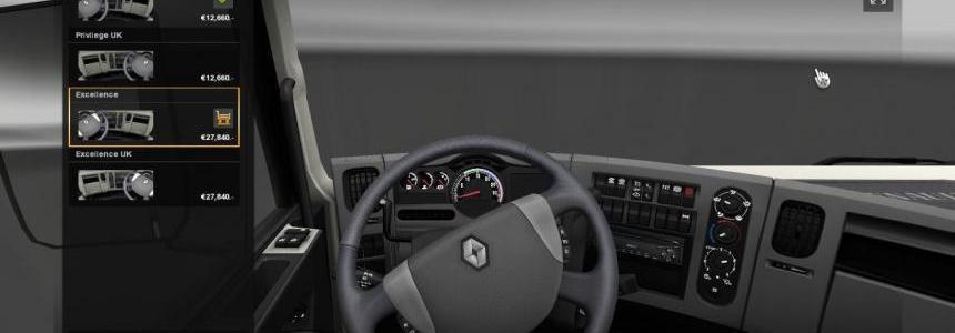 Renault Premium Dark Interior