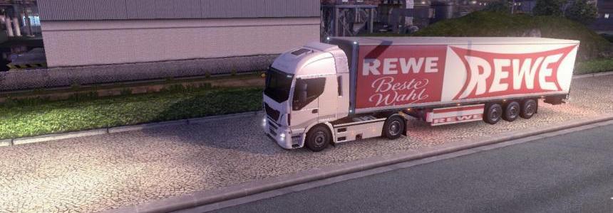 Rewe trailer skin