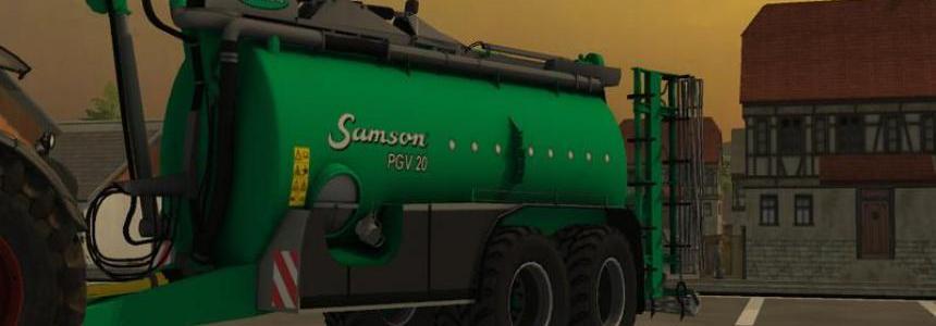 Samson manure pack v1.0