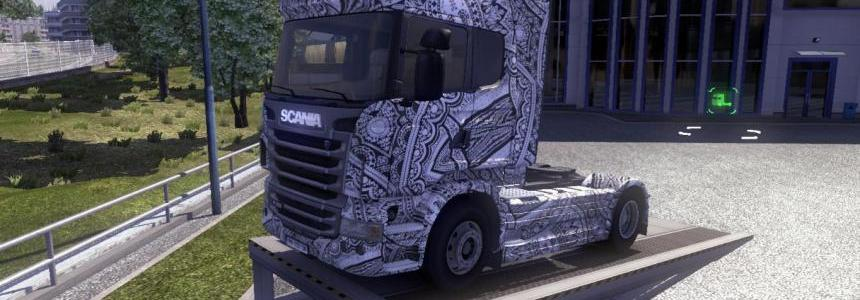 Scania Batik Indonesia Skin