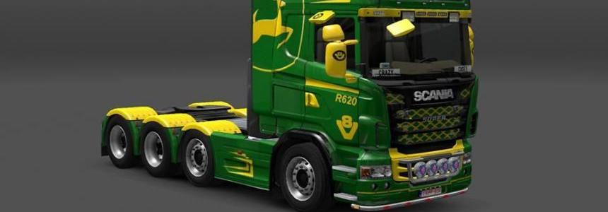 Scania John Deere Skin