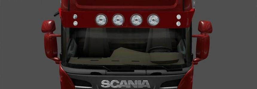 Scania Light Sun Visor