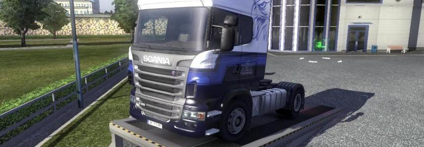 Scania R Blue V8