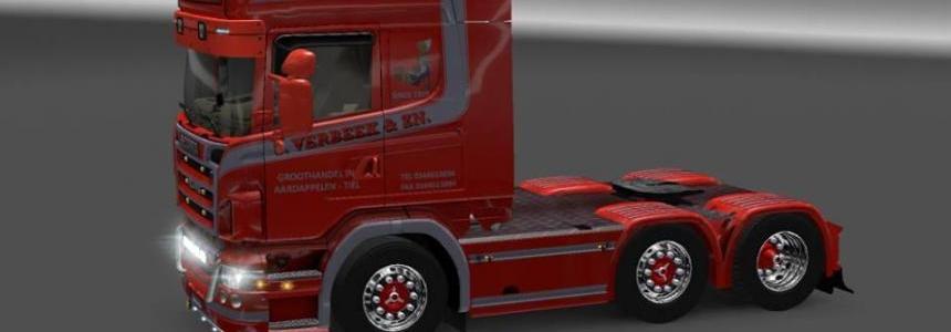Scania R620 Stijns Verbeek