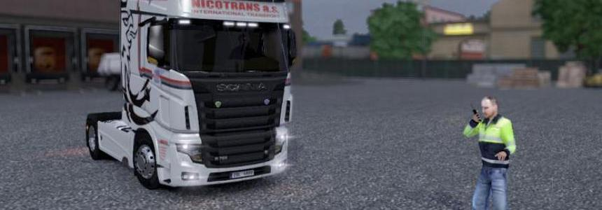 Scania R700 Nitrotrans Skin