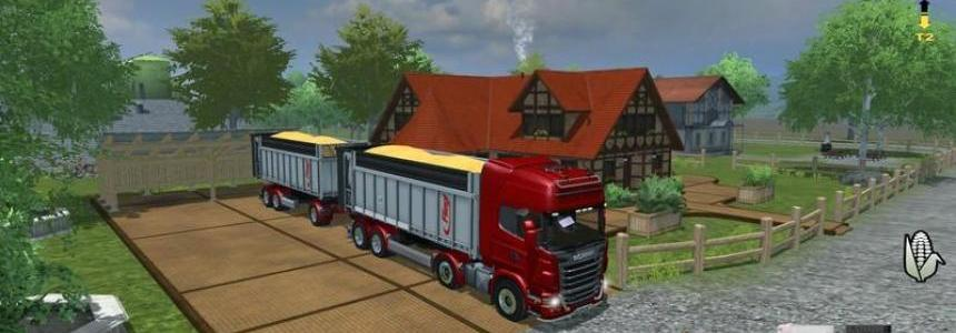 Scania R730 TOPLINE RED v1.1. MR