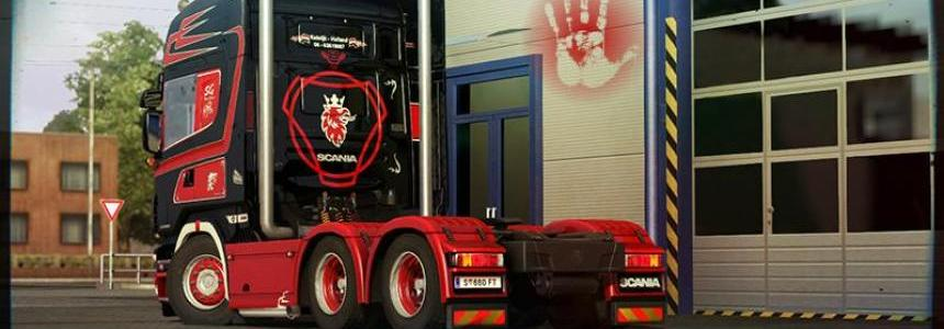 Scania V8 The Runner Mega Pack sound