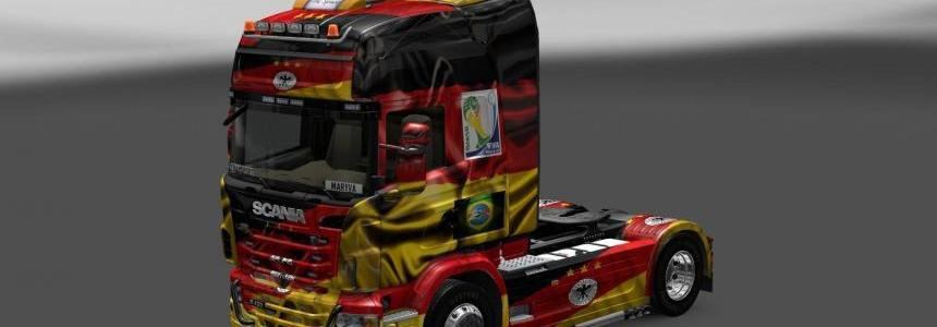 Skin Scania Germany Copa 2014