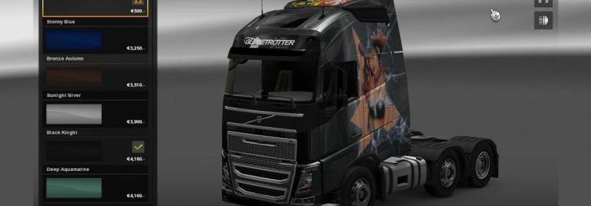 Skin Scania R & Volvo FH 2012