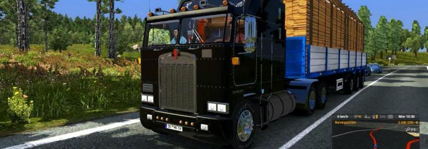 Sound Jake Brake Kenworth k100 v1