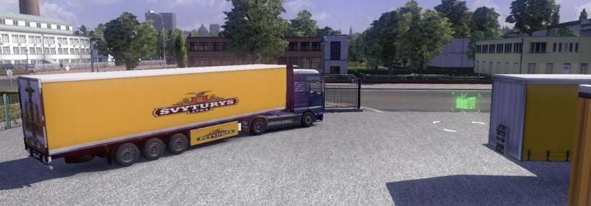 Svyturys trailer skin