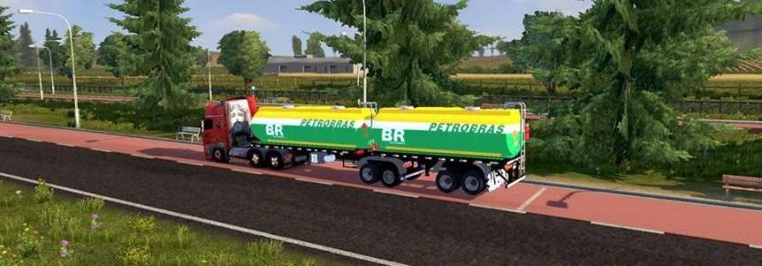 Trailer Tanks Bitrem Petrobras articulable