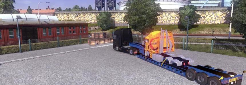 Trailer With Disassembled Truck v1.0