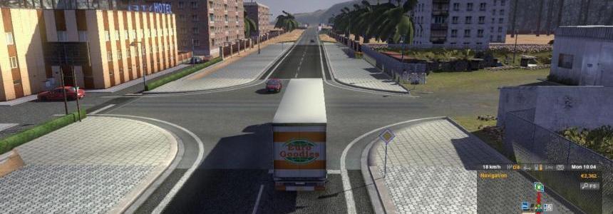 Trucksim Map v4.5.9