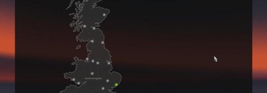 UK map (standalone)