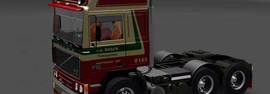 Volvo F10 van den Bosh