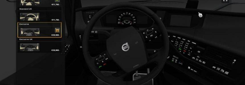 Volvo FH 2012 CMI interior
