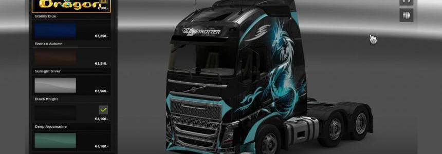 Volvo FH 2012 Dragon skin