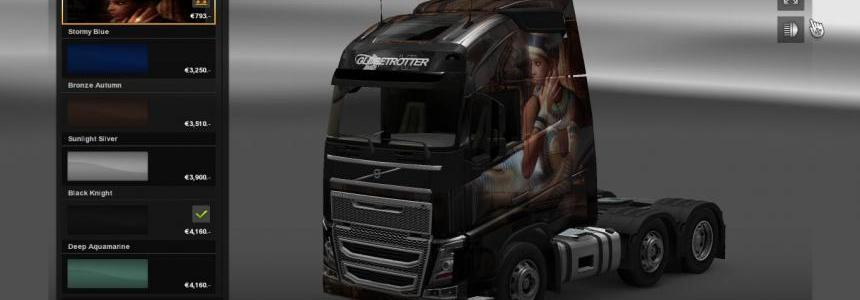 Volvo FH 2012 Egypt Queen skin