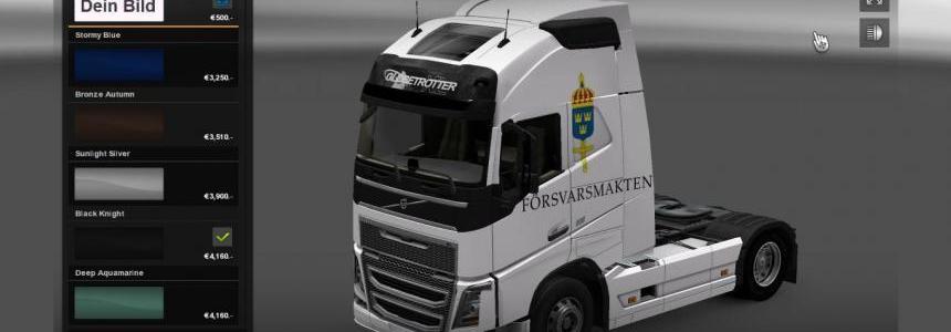 Volvo FH 2012 Forsvarsmakten Skin