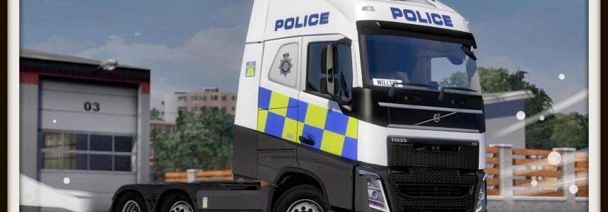 Volvo FH 2013 Police Skin