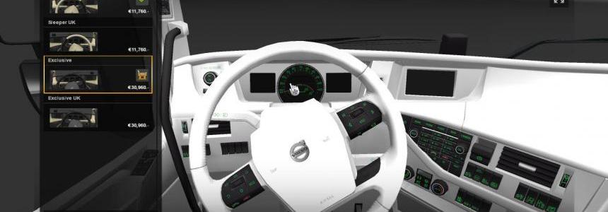 Volvo FH 2013 White Interior