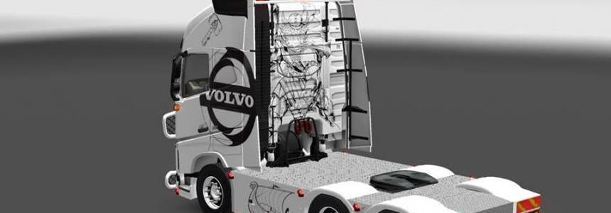 Volvo FH16 2012 Danish-Holland style v2.0
