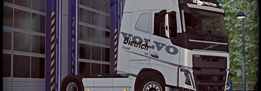 Volvo FH16 – Volvo Dietrich Skin