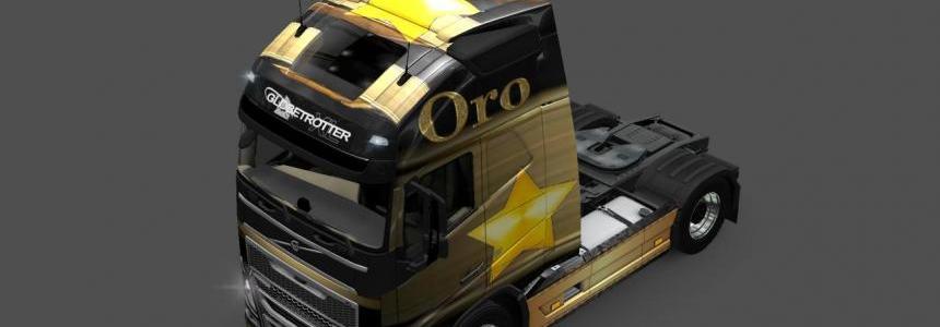 Volvo FH2013 Oro Skin